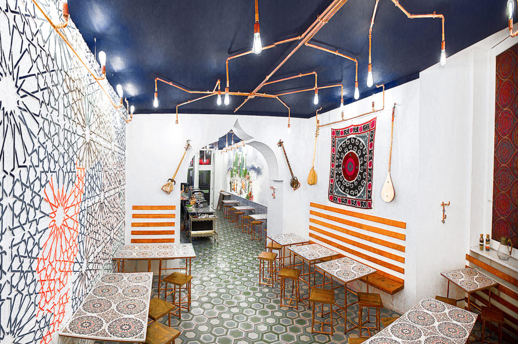 Design!ca Projects - Besh vegetarian restaurant in Berlin