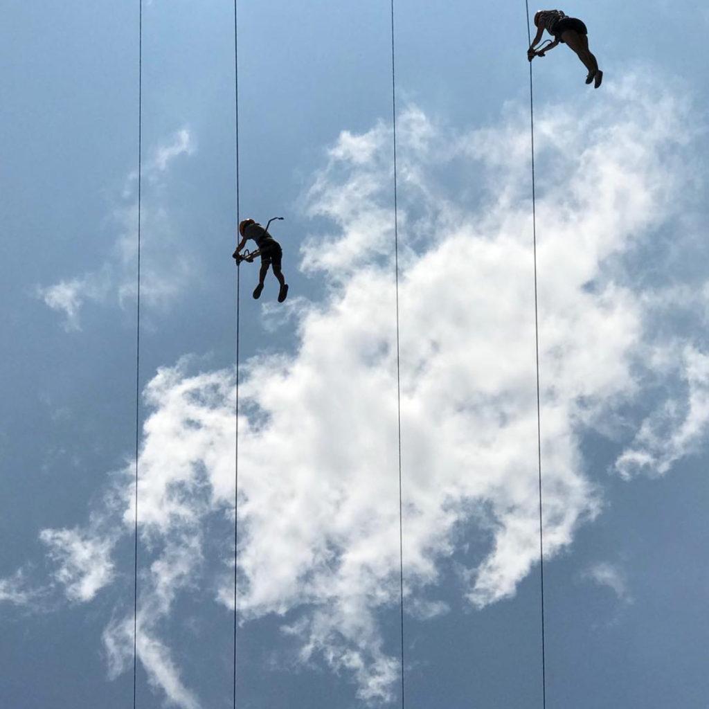 Climbing the sky by Umed Sadykov